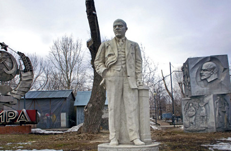 Among the 700-odd sculptures of the Museon stand six versions of Lenin. Source: Ricardo Marquina / RIR