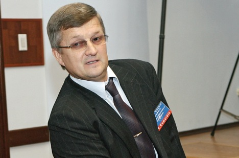 Viktor Komardin, General Director of Rosoboronexport. Source: RIA Novosti