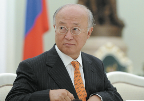 Yukiya Amano, Director General, IAEA. Source: Reuters