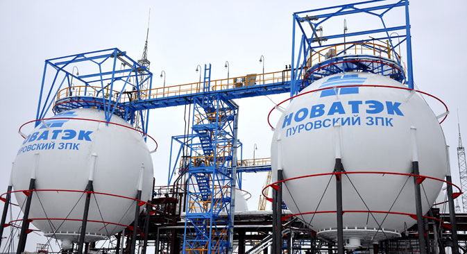 Novatek, which wants to challenge Gazprom as an LNG provider, may choose an Indian consortium for Yamal. Source: Itar-Tass