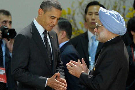 There has been criticism that the US-India relations are in a state of drift. Source: AP