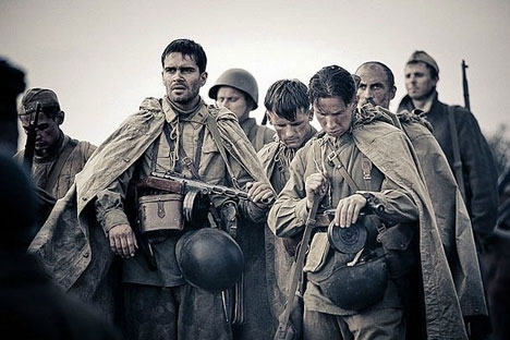 """Stalingrad"" is a military epic with a romantic line, shot in a juicy and effective manner. Source: kinopoisk.ru"