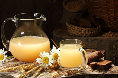 Kvass is consumed both on its own as beverage and also as the base for summer soups. Source: Lori / Legion Media