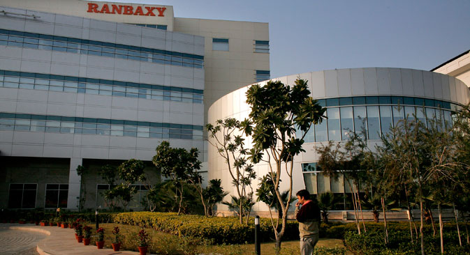 Ranbaxy operates in 56 regions in Russia. Source: Getty Images/Fotobank