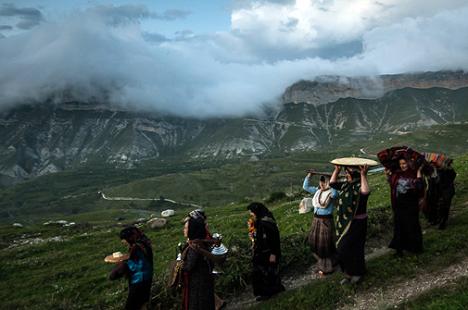 The Balhar mountain village is famous for its wedding ceremony. Source: Ivan Dementievsky