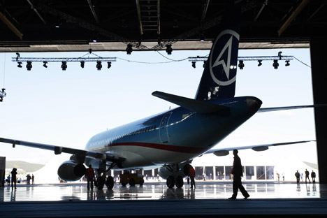 This year, the plant's plan is to release 25 SSJ-100 aircraft; next year's target is already 45. Source: ITAR-TASS