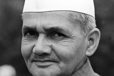 Indian Prime Minister Lal Bahadur Shastri. Source: Yuryi Abramochkin / RIA Novosti