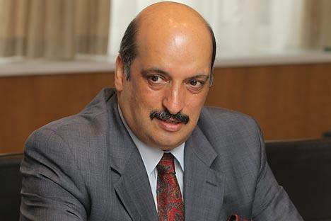 Ambassador Ajai Malhotra. Source: Rossiyskaya gazeta