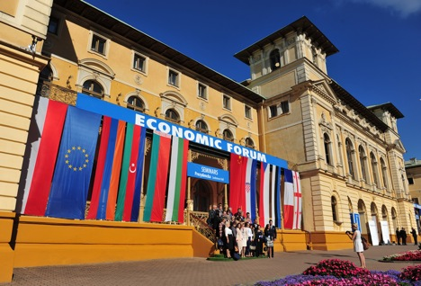 The 23rd Economic Forum held in Krynica-Zdroy in Poland from September 3-5, 2013. Source: Foundation Institute for Eastern Studies