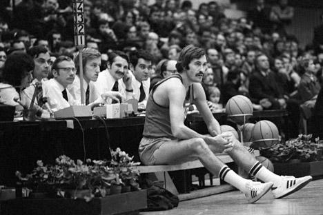 Belov won gold in the legendary final at the Munich Games in 1972. Source: Itar-Tass