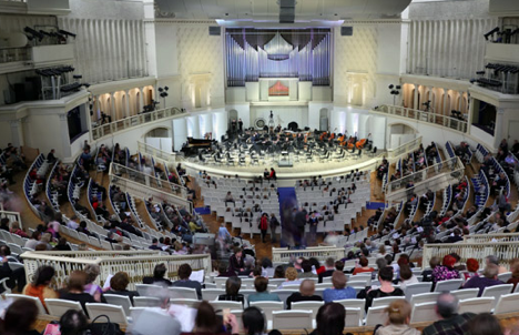 Moscow State Conservatory. Source: Lori Images