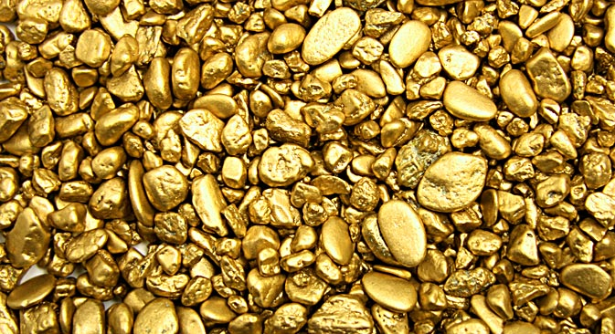 Russian firms are ramping up production of gold in Siberia and the Far East. Source: Shutterlock / Legion Media