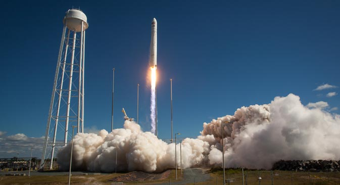 The Orbital Sciences Corporation Antares rocket. Source: NASA