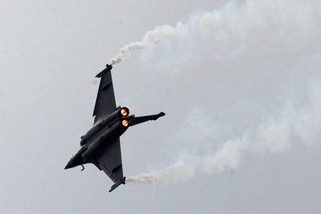 The ability to use Russian weapons would only help the Rafale in export competitions. Source: AP
