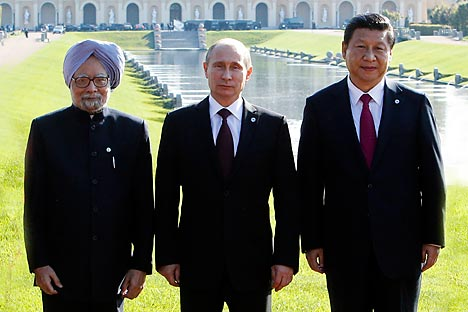 Will the Indian public accept a RIC alliance? Source: Reuters