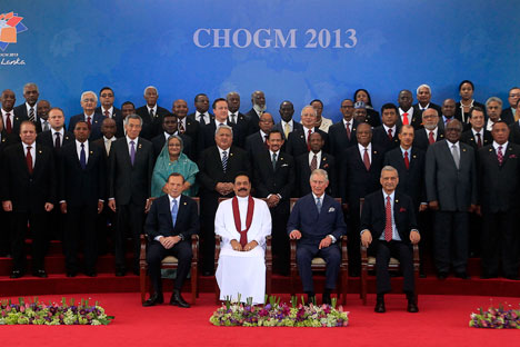 2013 Commonwealth Heads of Government Meeting in Sri Lanka. Source: Reuters/Vostock Photo