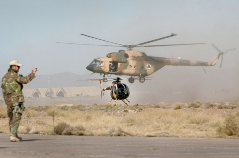 Moscow and Kabul reached an agreement on repairs of Russian helicopters in Afghanistan.