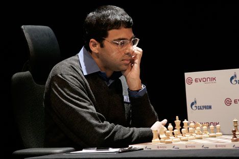 Anand said he was very intimidated by the chess prowess in the country. Source: AP