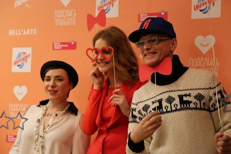 "Natalia Vodianova: ""Your smile will change someone's life."" Source: Yaroslava Kiryukhina"
