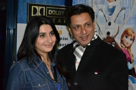 Madhur Bhandarkar at the inauguration of the festival. Source: Indian Embassy in Moscow
