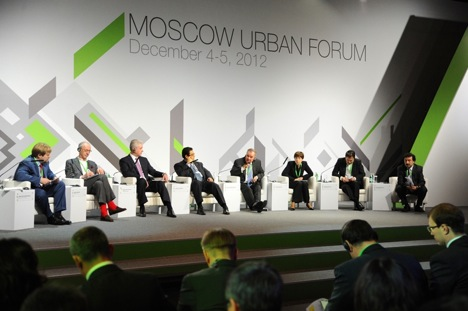 The Moscow Urban Forum 2012. Source: mosurbanforum.ru