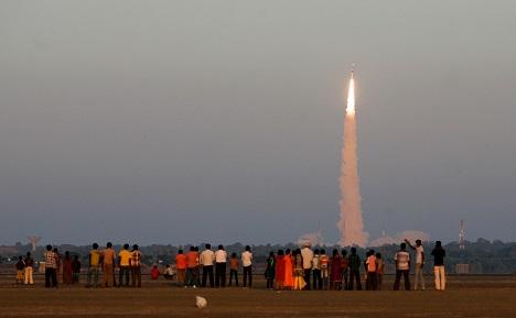 ISRO's Satish Dhawan Space Centre in Sriharikota. Source: AP