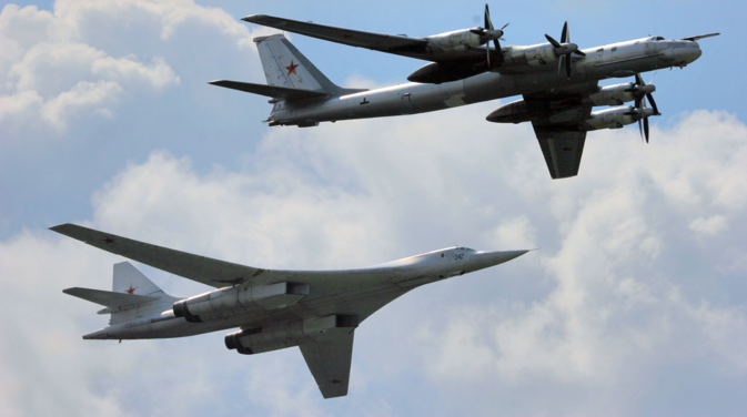 PAK-DA will replace Russia's ageing fleet of 63 Tupolev Tu-95M Bear (above) and 13 Tu-160 Blackjack (below) strategic bombers in the next decade. Source: Itar-Tass
