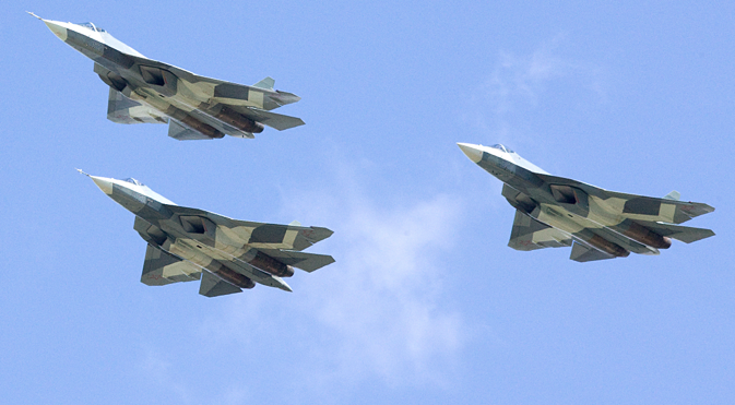 The FGFA project began following a Russian-Indian agreement on cooperation in the development and production of the perspective multirole fighter, signed on October 18, 2007. Source: Sukhoi.org
