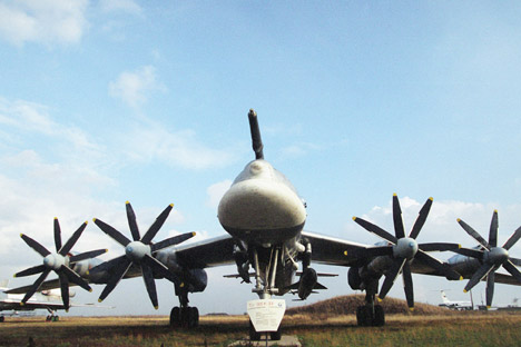 Tu-95 is the fastest propeller aircraft on Earth and the world's only production turboprop bomber. Source: Itar-Tass