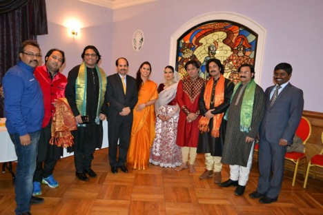 Participants of the Festival of Indian Culture in Russia. Source: Embassy of India in Moscow