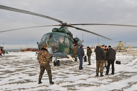 Russian military presence in Arctic will grow in 2014. Source: PhotoXPress