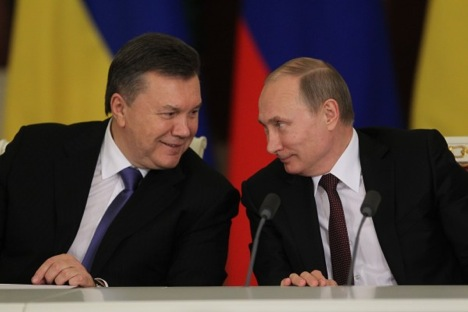 Putin described Ukraine as Russia's strategic partner. Source: Konstantin Zavrazhin / RG