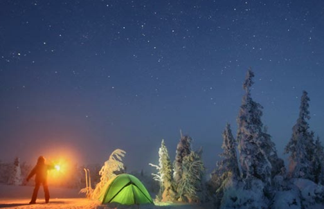 Winter is a great time for adventurers. Source: Sergei Makurin