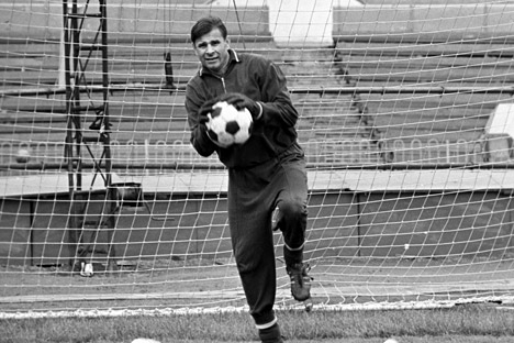 Lev Yashin, a phenomenal player of his time. Source: Sergey Solovjev / RIA Novosti