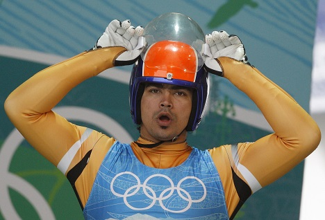 Shiva Keshavan (photo) and three Indian skiers have qualified for the Olympics in Sochi. Source: Reuters