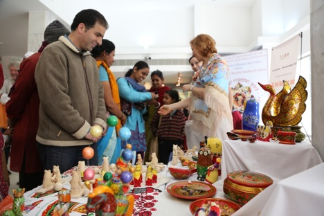 Artisans from different parts of India joined the workshop to get to know Russian crafts. Source: Alexander Tomas
