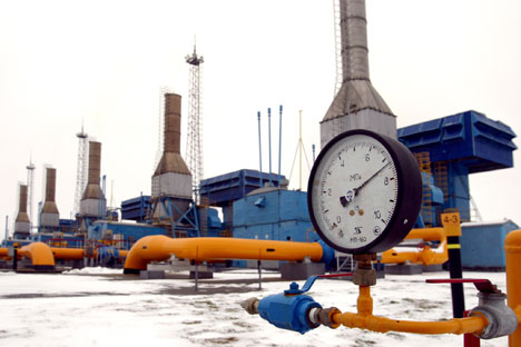 An under-construction Liquefied Natural Gas (LNG) plant in the Yamal peninsula.