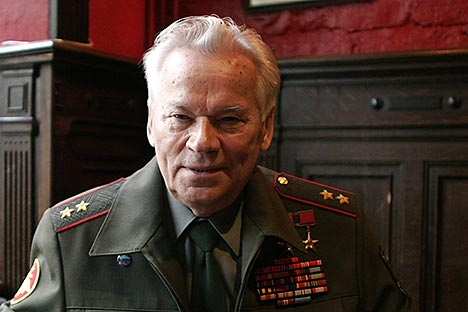 AK-47 inventor Mikhail Kalashnikov dies at age 94. Source: Reuters