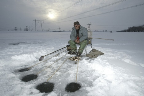 For many Russians fishing is less a sport or even a livelihood than it is a way of life. Source: AFP/East News