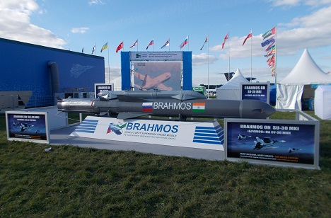 The idea of exporting BrahMos missiles to third countries was discussed in 2016. Source: RIR