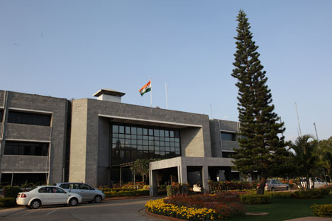 Headquarters of the Indian Space Research Organization (ISRO). Source: Corbis/Fotosa