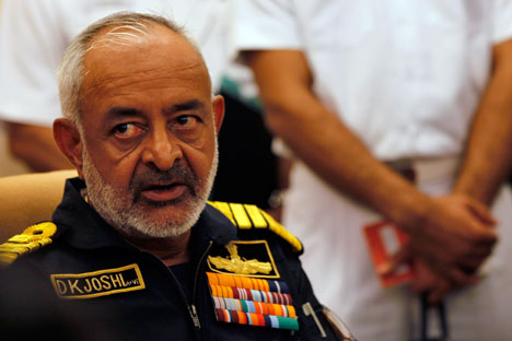 The INS Arihant has already completed harbour acceptance trials, Admiral Joshi said. Source: AP