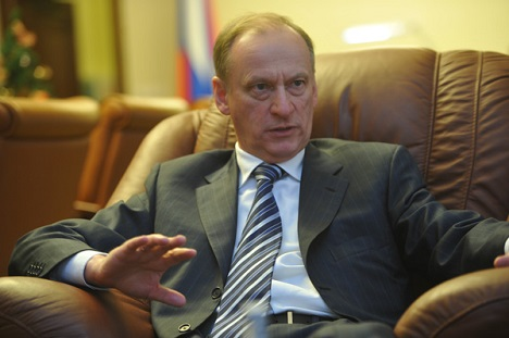 The Russian Security Council Nikolai Patrushev represented Russia at the meeting of senior BRICS security officials. Source: RG
