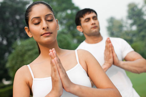 Not every Indian is into yoga and meditation. Source: Getty Images/Fotobank