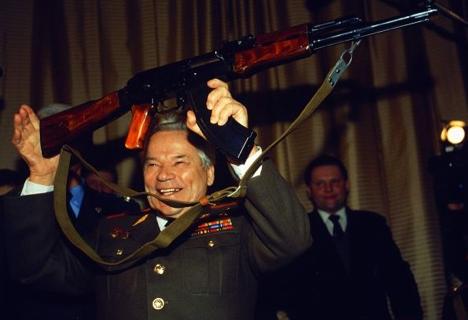 Mikhail Kalashnikov, legendary inventor of AK-47. Source: Viktor Vasenin / RG