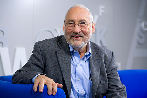 "Joseph Stiglitz: ""The BRICS, their GDP is today better than the advanced world, they have the resources to do it and the also there is a need (for them to grow)"". Source: Vostock Photo"