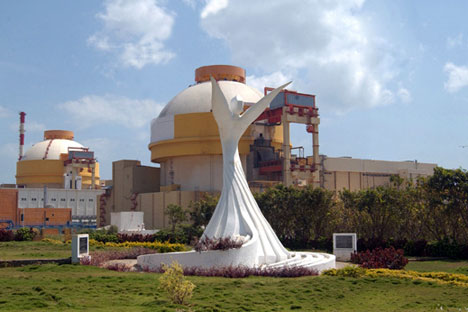 The Kudankulam units comprise of 1,000 MW reactors of the VVER-1000 model being constructed by NPCIL and Russia's Atomstroyexport, a subsidiary of Rosatom. Source: Rosatom