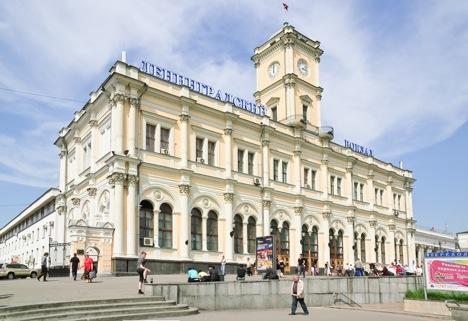 Leningradsky railway station. Source: Lori / Legion Media