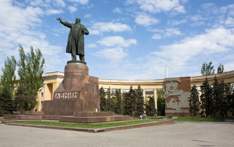 The highest monument to Lenin is located in Volgograd. Source: Lori / Legion Media