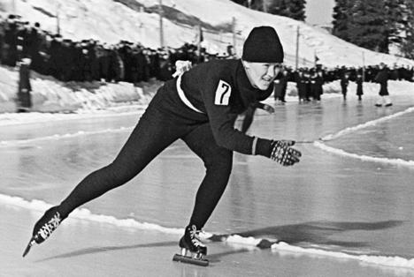 The legendary Soviet speed skater Lidia Skoblikova. Source: RIA Novosti